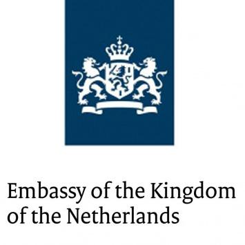 Dementia Friendly Environment logo sponsor Dutch embassy