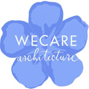 WeCare architecture Dementia Friendly Environment logo