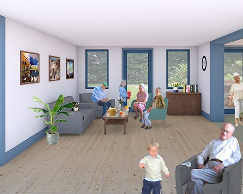 Care Facilities Design for Dementia Friendly Day Center Budapest Hungary Icon