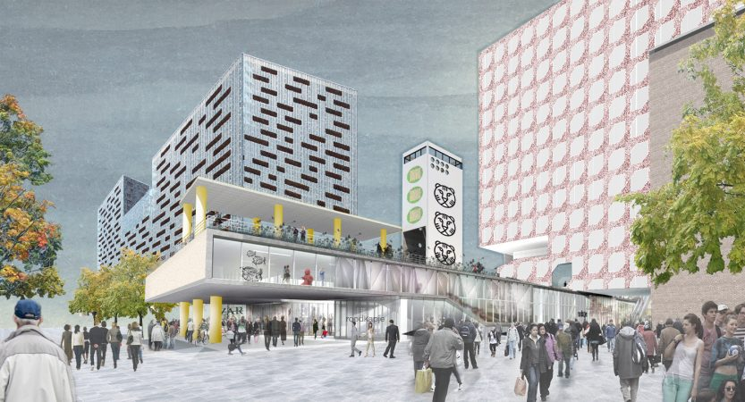 Liveable Cities Public Interior Rotterdam Perspective 03