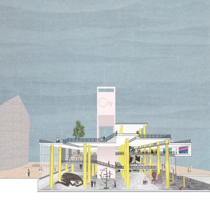 Liveable Cities Public Interior Rotterdam Perspective 01