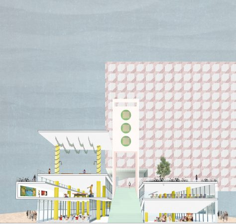 Liveable Cities Public Interior Rotterdam Perspective 02