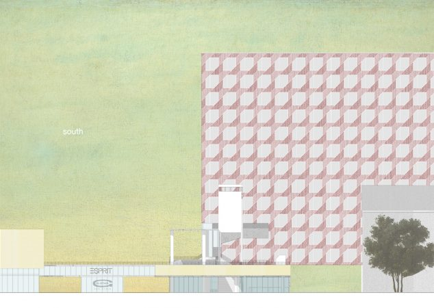 Liveable Cities Public Interior Rotterdam Elevation South