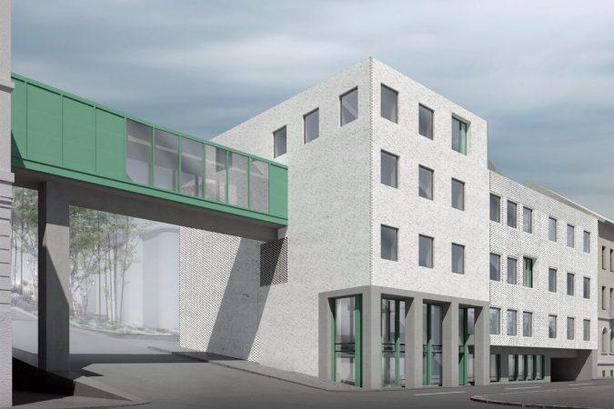 wecare architecture Varosmajor clinic plant peter kis budapest hungary health healing care
