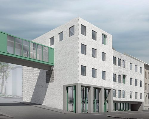 wecare architecture Varosmajor clinic plant peter kis budapest hungary health healing care