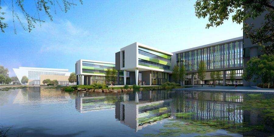 wecare architecture urbanism landscape education teachers china qingdao Mátyus University