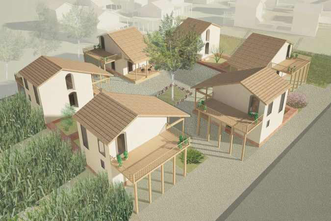 Eco-Living Social housing Empowerment of Roma population through Incremental Building and Renovation in Ózd Hungary Render 03