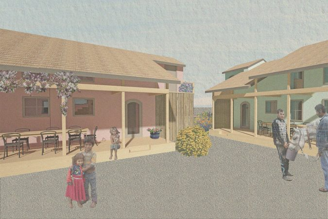Eco-Living Social housing Empowerment of Roma population through Incremental Building and Renovation in Ózd Hungary Render 01